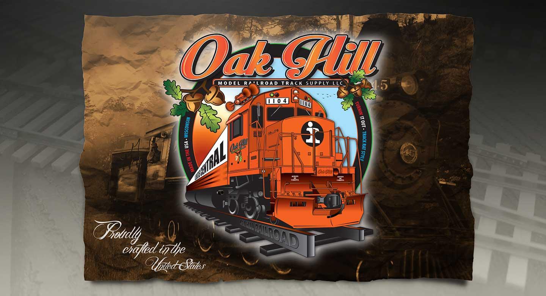 Oak Hill Model Railroad Track Supply LLC
